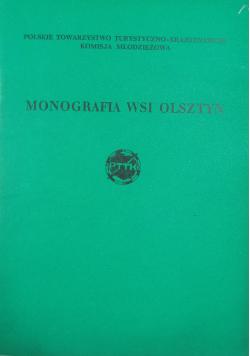 Monografia wsi Olsztyn