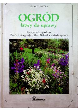 Ogród łatwy do uprawy