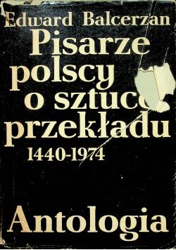 Pisarze polscy o sztuce przekładu 1440 1974