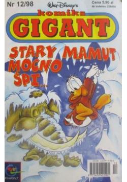 Komiks Gigant  Stary mamut mocno śpi