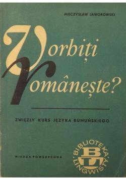 Vorbiti romaneste Zwięzły kurs języka rumuńskiego