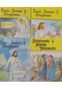 Bohaterowie Nowego Testamentu 4 tomy