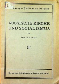 Russische kirche und sozialismus 1922 r.