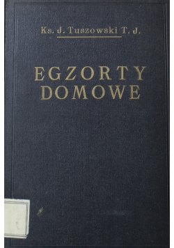 Egzorty domowe 1929 r
