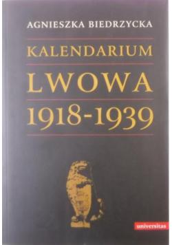 Kalendarium Lwowa 1918 1939 NOWA