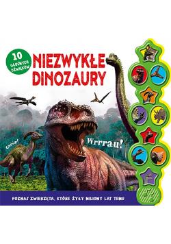 Niezwykłe dinozaury. 10 głośnych dźwięków