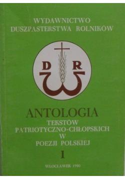 Antologia tekstów patriotyczno chłopskich w poezji Polskiej