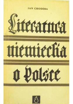 Literatura niemiecka o Polsce w latach 1918 1939