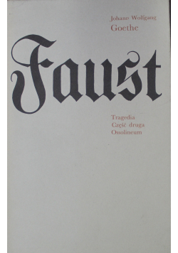 Faust Część druga