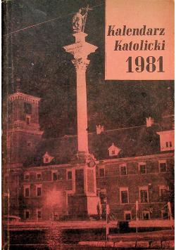 Kalendarz Katolicki 1981