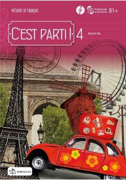 C'est Parti ! 4 Podręcznik wieloletni + CD DRACO