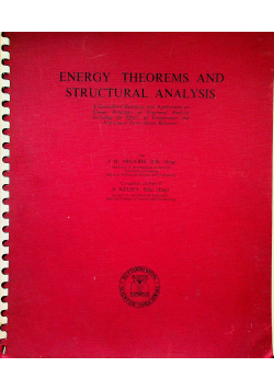 Energy theorems and structural analysis