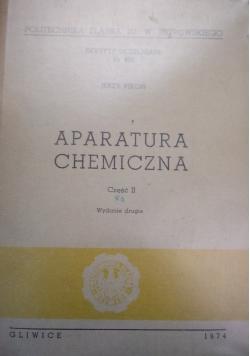Aparatura chemiczna część II
