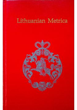 Lithuanian Metrica