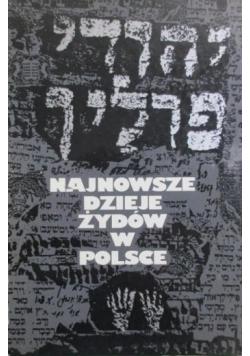 Najnowsze dzieje Żydów w Polsce