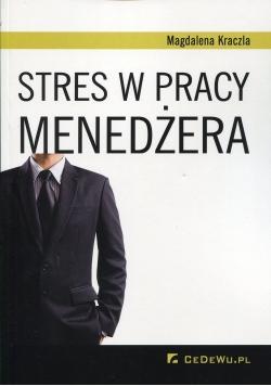 Stres w pracy menadżera