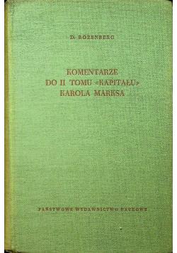 Komentarze do II tomu kapitału Karola Marksa