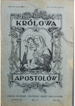 Królowa Apostołów Nr 5 1928 r
