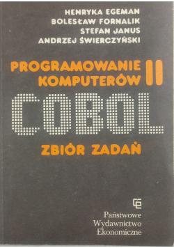 Programowanie komputerów II Cobol