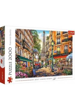 Puzzle 2000 Popołudnie w Paryżu TREFL