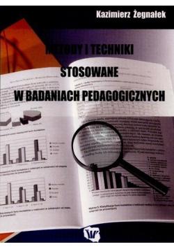 Metody i techniki stosowane w badaniach pedagogicznych