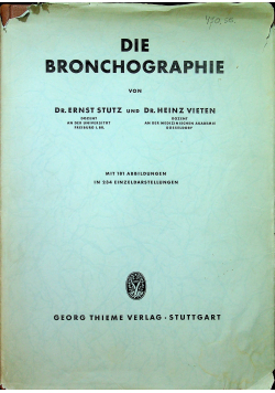 Die bronchographie