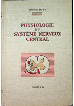 Physiologie du systeme nerveux central