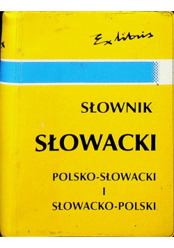 Słownik Słowacki