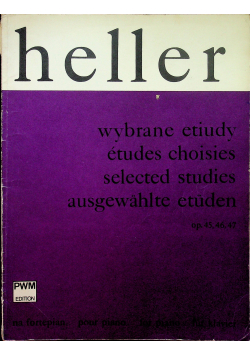 Heller Wybrane etiudy na fortepian
