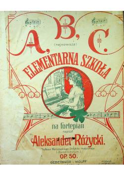Elementarna szkoła 1910 r