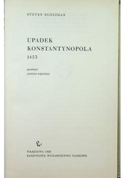 Upadek Konstantynopola 1453