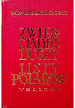 Zwierciadło duszy listy Polaków