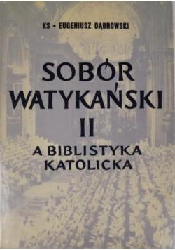 Sobór watykański II a biblistyka katolicka