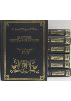 Słownik języka polskiego 7 Tomów Reprint z 1854 r.