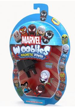 Wooblies Marvel 3 figurki + wyrzutnia