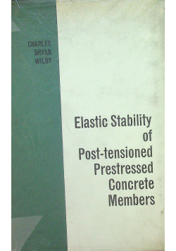 Elastic stability of concrete members