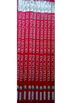 The kingfisher History Encyclopedia tomy od I do X