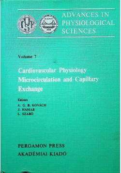 Cardiovascular Physiology Microcirculation and Capillary Exchange