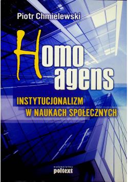 Homo agens