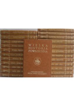 Wielka Historja Powszechna reprint z ok 1935 roku 24 tomy
