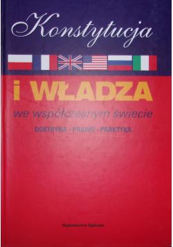 Konstytucja i władza we współczesnym świecie