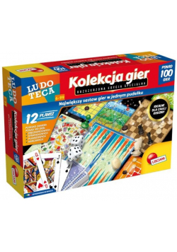 Zestaw 100 gier Ludoteca