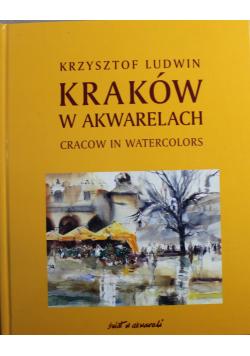 Kraków w akwarelach + autograf Ludwina
