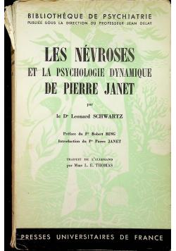 Les nevroses et la psychologie dynamique de Pierre Janet