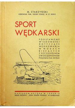 Sport wędkarski 1935r