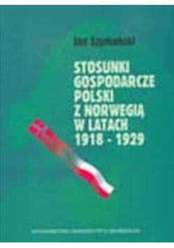 Stosunki gospodarcze Polski z Norwegią w latach 1918 1929