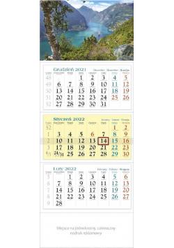 Kalendarz 2022 trójdzielny KT 08 Fiord
