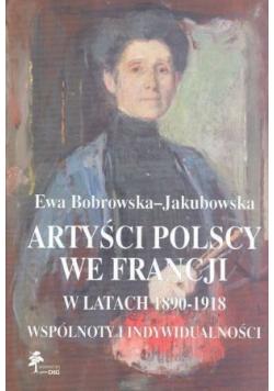 Artyści polscy we Francji w latach 1890 1918 Dedykacja Autora