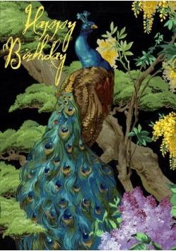 Karnet B6 z kopertą Urodziny Paw