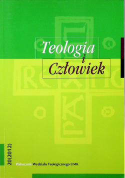 Teologia i człowiek 20